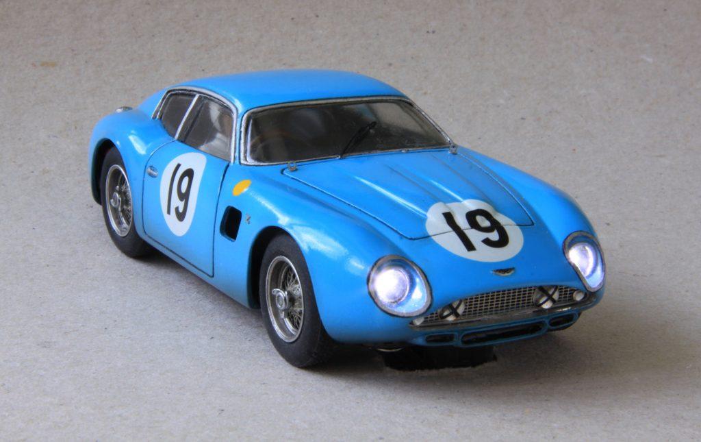 mf motorsport decoration slotcar aston martin gtz le mans 1963