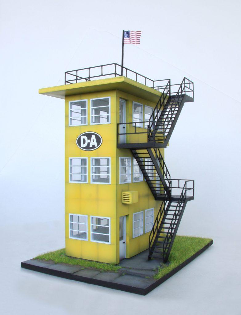 mf motorsport slot car indianapolis drag racing tower 1960