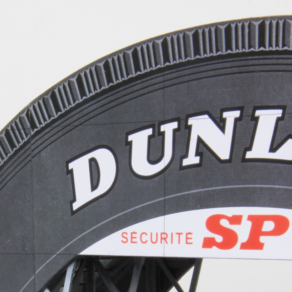 mf motorsport passerelle-dunlop-le-mans-1960-slot-car