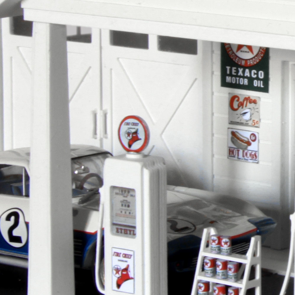mf motorsport decoration slot car station service usa